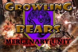 Growling Bears (C) Mercenary Unit